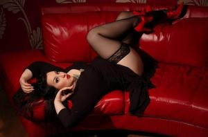 plus size pin up